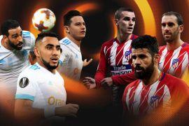 Atletico jumpa Marseille di final Liga Europa