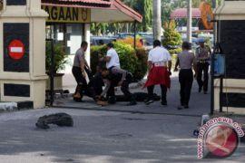Anngota Polda Riau tewas diserang teroris