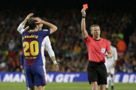 Sergi Roberto diskors empat pertandingan karena menyerang Marcelo