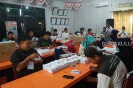 KPU Bengkulu mulai tahapan pelipatan surat suara