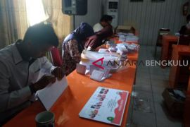 KPU Bengkulu temukan puluhan surat suara rusak