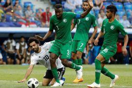 Arab Saudi taklukkan Mesir 2-1