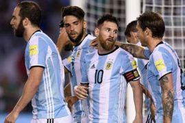 Argentina tanpa Messi hingga November