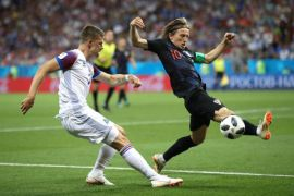 Kroasia berhasil taklukkan Islandia 2-1