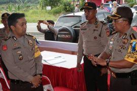 Polda Bengkulu dirikan 40 pos pengamanan lebaran