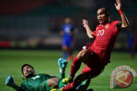 Laga kedua, Timnas U-23 Indonesia bermain imbang atas Thailand