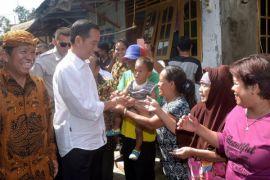 Jokowi berbagi trik sukses raih simpati rakyat