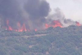 California umumkan darurat kebakaran hutan