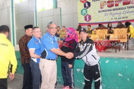 Kontingen Kota Bengkulu juara umum Popda 2018