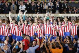 Balas dendam !! Atletico angkat Piala Super setelah hajar Real 4-2