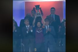 Barca raih Piala Super setelah taklukkan Sevilla