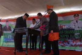 Mendes resmikan turnamen Liga Santri Nusantara region Bengkulu