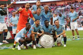 City raih Community Shield kelima setelah taklukkan Chelsea 2-0