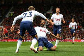 Spurs hajar United 3-0 di Old Trafford