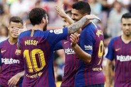 Liga Champions - Barcelona pecundangi PSV, Messi cetak gol dan satu assist