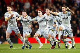 Derby County singkirkan M United dari Piala Liga