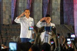 Pilpres 2019: Jokowi-Ma'ruf no urut 1 dan Prabowo-Sandiaga 2