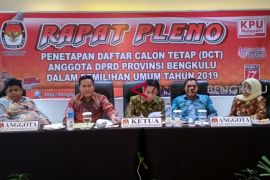 DCT Bengkulu bersih dari mantan napi korupsi