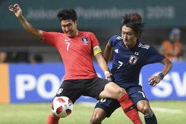 Korea Selatan pertahankan medali emas sepak bola Asian Games