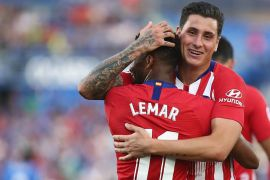Gol perdana Lemar bantu Atletico bekuk Getafe 2-0