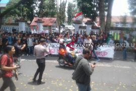Demo mahasiswa Curup berlangsung singkat