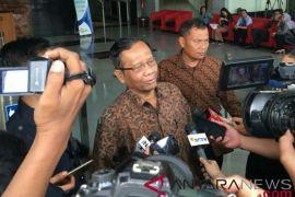 Mahfud MD bahas korupsi dengan pimpinan KPK