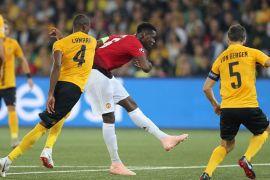 M United hajar BSC Young Boys 3-0, Pogba cetak 2 gol
