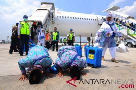 385 haji Bengkulu tiba di Tanah Air