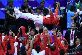 Daftar perolehan medali Asian Games hari ke-14