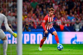 Griezmann borong dua gol saat Atletico kalahkan Brugge 3-1