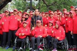 Presiden lepas kontigen Asian Para Games
