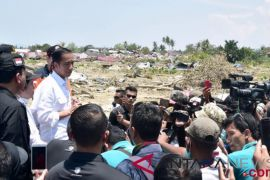Presiden: Bantuan logistik asing mulai masuk