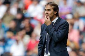 Pascapemecatan, Julen Lopetegui menjadi pelatih tersingkat Real Madrid