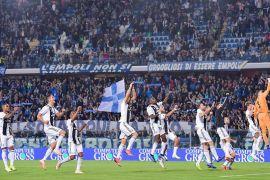 Dua gol Ronaldo bawa Juve tundukkan Empoli