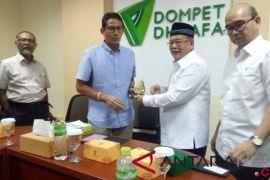 Prabowo-Sandiaga tunda kampanye di Sulawesi Tengah