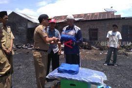 Pemkab Rejang lebong bantu lansia korban kebakaran