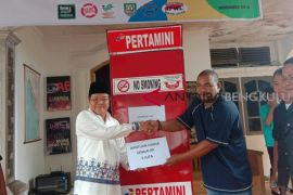 Para mantan pencandu narkoba Bengkulu terima bantuan usaha