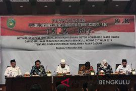 KPK dorong optimalisasi penerimaan pajak Kota Bengkulu