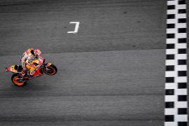 Marquez menangi GP Malaysia