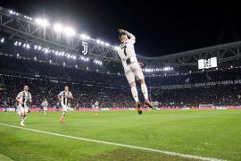 Cetak gol atas SPAL buat Ronaldo jadi pemain tersubur Liga Italia