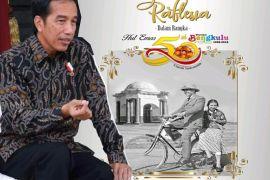 Presiden Jokowi hadiri HUT Emas 50 Tahun Bengkulu