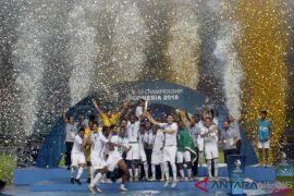 Arab Saudi raih juara Piala Asia 2018