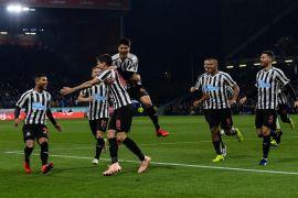 Newcastle semakin jauhi zona degradasi setelah tundukkan Burnley