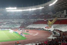 Berakhir tanpa gol, Bima Sakti terharu melihat dukungan suporter