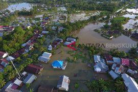 Sejumlah wilayah Kota Bengkulu tergenang banjir