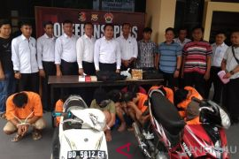 Kepolisian Bengkulu bekuk delapan pembobol rumah kosong