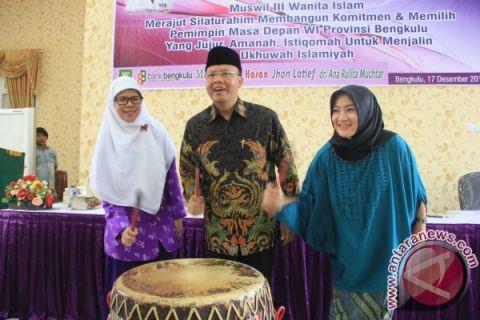 Plt Gubernur Bengkulu Minta Muswil WI Hasilkan Hal Produktif