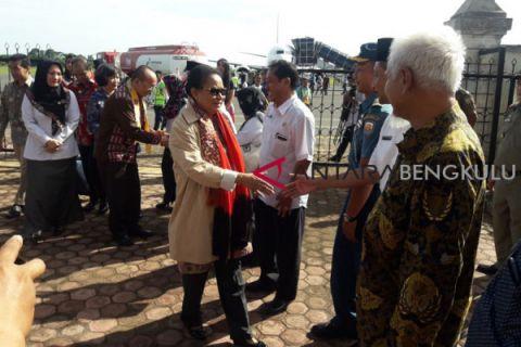 Kunjungan Menteri Yohana ke Bengkulu