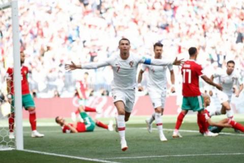 Ronaldo pimpin daftar pencetak gol terbanyak