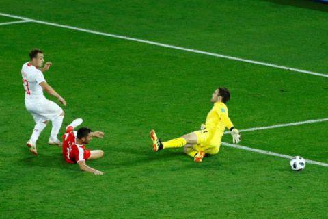 Shaqiri jadi penentu kemenangan Swiss atas Serbia